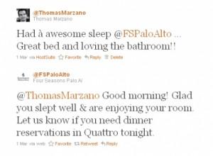 Thomas Marzano Four Seasons