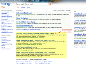 Bing Organic Results